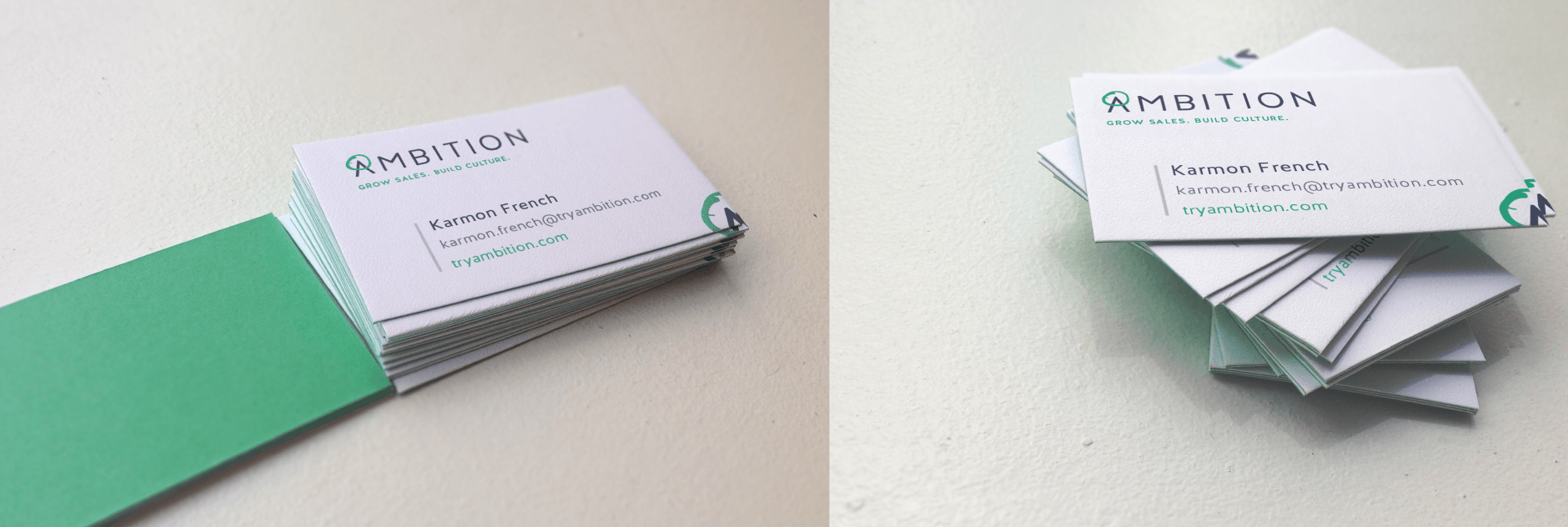 Ambition business cards