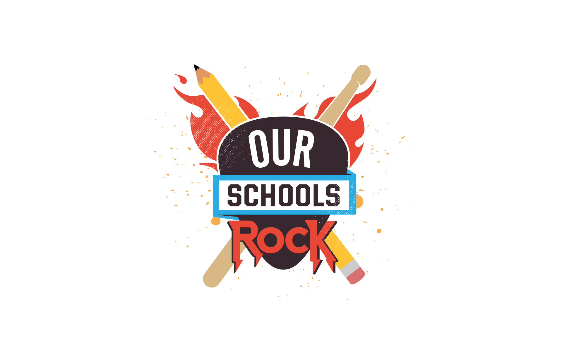 Our Schools Rock final logo